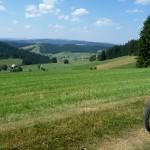 Kandel 2013 - Ausblick Richtung Schauinsland