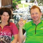 Kandel 2013 - Pause Elke und Bertram