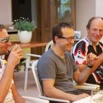 Kandel 2013 - Pause Lukas Thomas S und Henner
