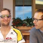 Kandel 2013 - Pause Lukas und Thomas S