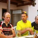 Kandel 2013 - Pause Thomas S Henner Sven und Thomas Ruf