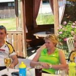 Kandel 2013 - Pause Uwe Regina und Jule
